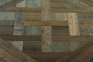Versailles oak antique N° 4 Marron fumé (Dark brown)