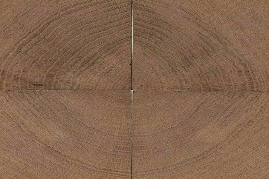 end grain oak in tile
