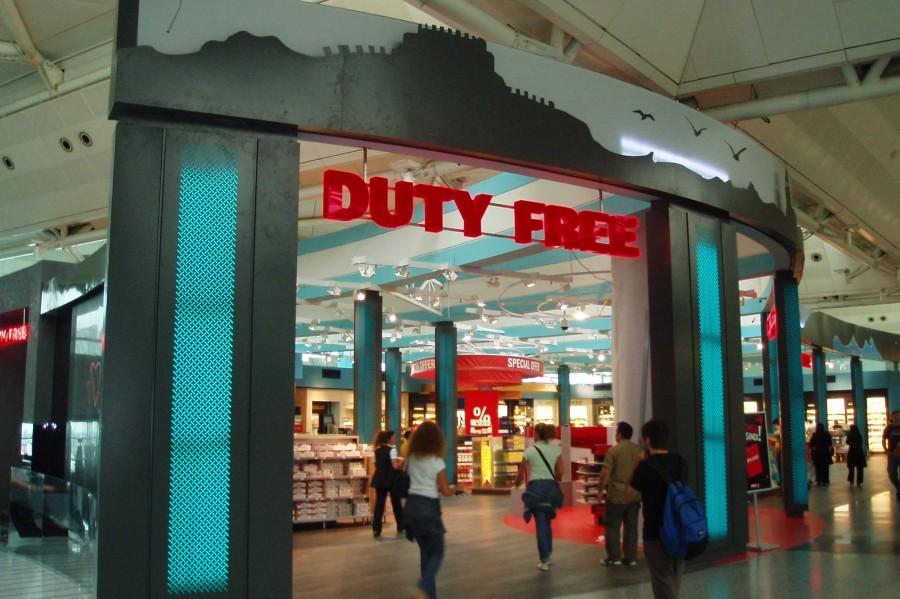 Atatürk havalimanı - Duty Free Shop