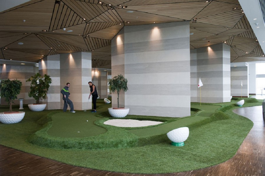 istanbul sapphire golf alanı